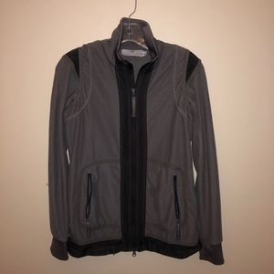 Adidas by Stella McCartney Grey Midlayer Jacket